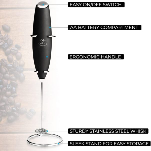 Cacao & Milk Frother details